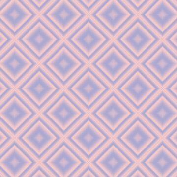 Starry Tiles in Rose Quartz and Serenity by charmarose