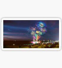 NYE Fireworks 2015 | Brighton Beach Sticker