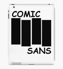 Black Flag Comic Sans iPad Case/Skin