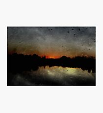 """""""Rustic Sunset"""" by Carter L. Shepard""""  Photographic Print"""