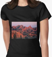 Badlands Dreaming Womens Fitted T-Shirt
