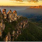 Sunrise in Blue Mountains by slonchak