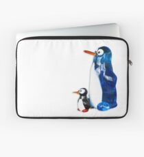 Two penguins Laptop Sleeve