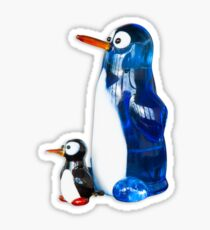 Two penguins Sticker