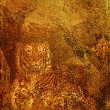 Burnished Tigers by tillymagoo