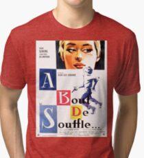 A bout de souffle (Breathless) - Jean-Luc Godard Tri-blend T-Shirt