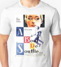 A bout de souffle (Breathless) - Jean-Luc Godard Unisex T-Shirt