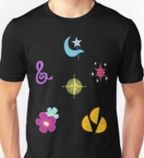 My little Pony - Elements of Harmony Cutie Mark Special V4 (Manehattan 6) T-Shirt