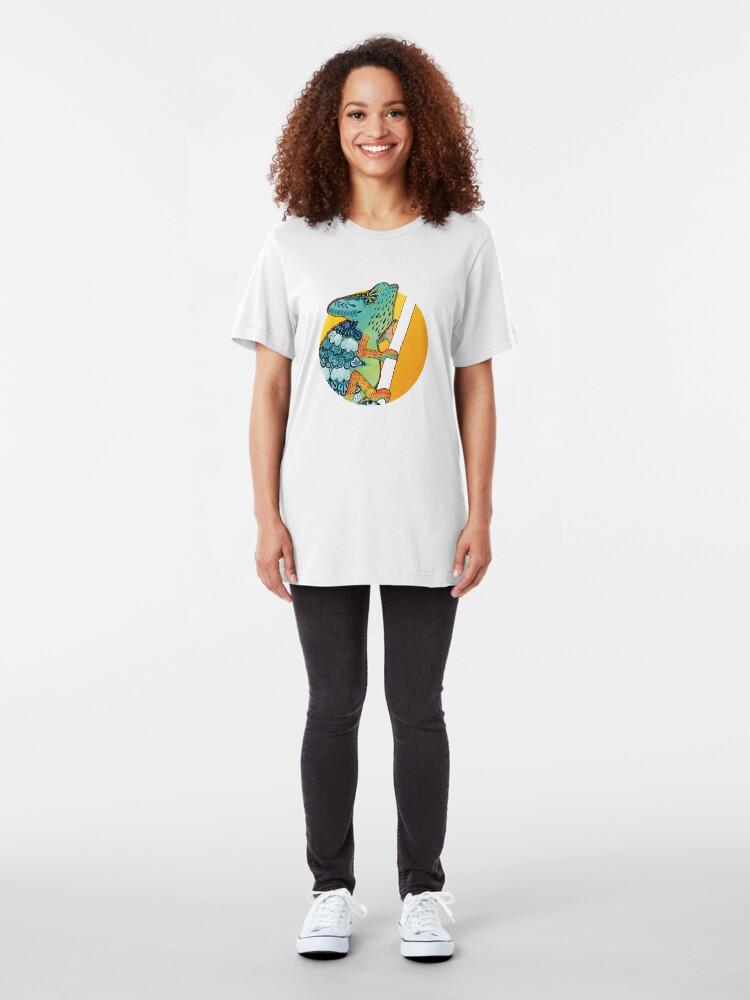 Alternate view of Veiled Chameleon II Slim Fit T-Shirt