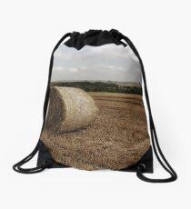 Hay Bale Drawstring Bag