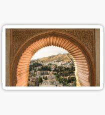The Alhambra of Granada Sticker