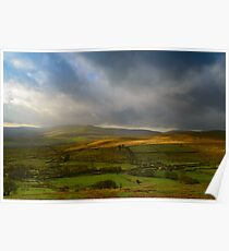 Wensleydale from Buttertubs Pass Poster