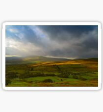 Wensleydale from Buttertubs Pass Sticker