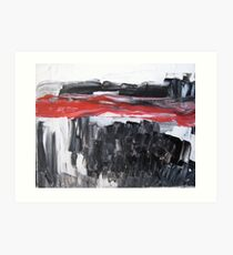 Not everything is black and white... Art Print