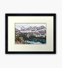Nancy Over Lake Ohara Framed Print