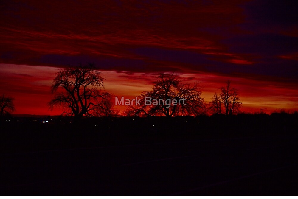 Even more of a sunset by Mark Bangert