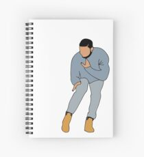 DRAKE'S HOTLINE BLING  Spiral Notebook