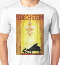 Vintage C. Bechstein German Piano Advertisement Unisex T-Shirt