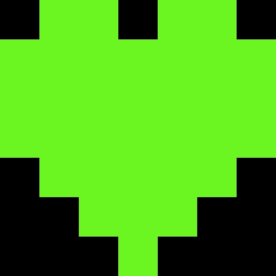 Broken Pixel - Kindness Pixel Heart by ABrokenPixel