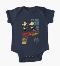 Supernatural Bros. Box Art Short Sleeve Baby One-Piece