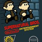 Supernatural Bros. Box Art by byway