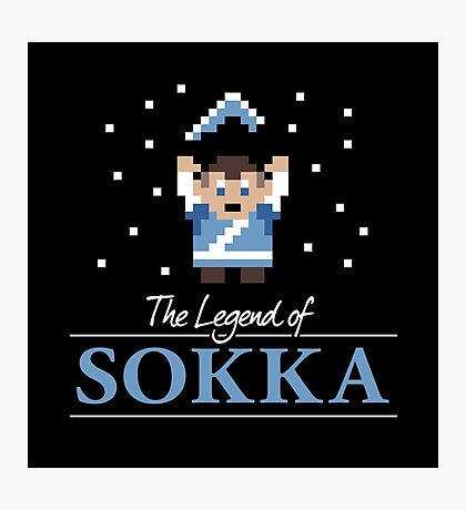 The Legend of Sokka Photographic Print