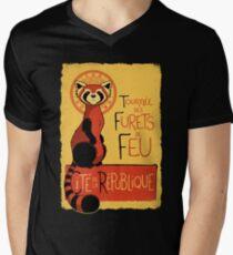 Les Furets de Feu Men's V-Neck T-Shirt