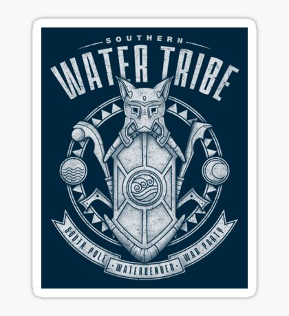 Avatar Southern Water Tribe Sticker