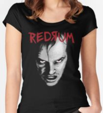 Redrum Women's Fitted Scoop T-Shirt