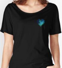 Broken Pixel - Galaxy Pixel Heart Women's Relaxed Fit T-Shirt