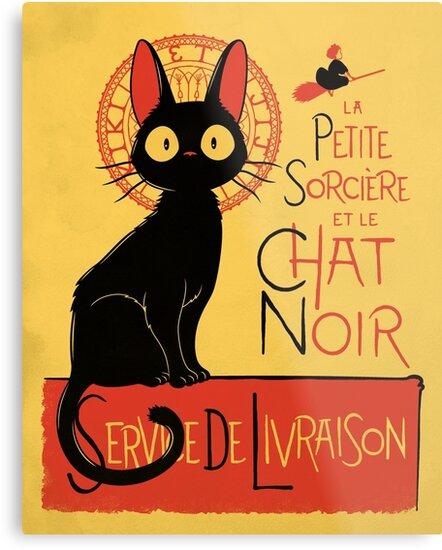 La Petite Sociere et le Chat Noir - Service de Livraison by Adho1982