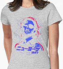 Escape from New York 1997 Japanese Womens Fitted T-Shirt