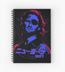 Escape from New York 1997 Japanese Spiral Notebook