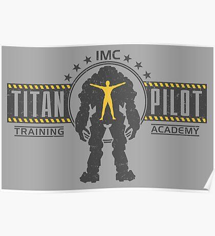Titan Pilot Training Academy Poster