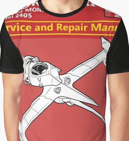 Swordfish Service and Repair Manual Graphic T-Shirt