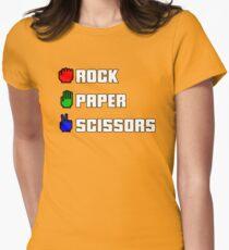 Rock-paper-scissors Womens Fitted T-Shirt