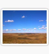 Wheat Fields Sticker