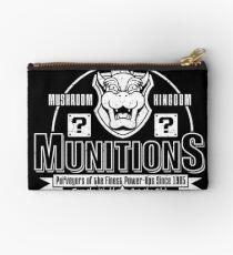 Mushroom Kingdom Munitions Studio Pouch