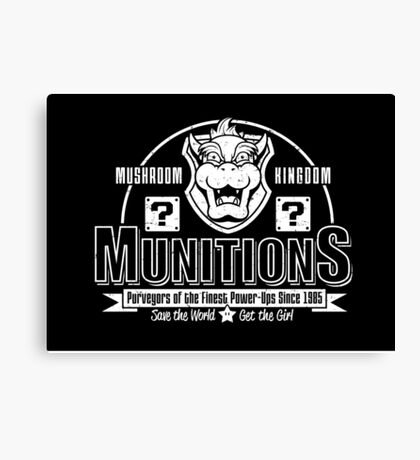Mushroom Kingdom Munitions Canvas Print