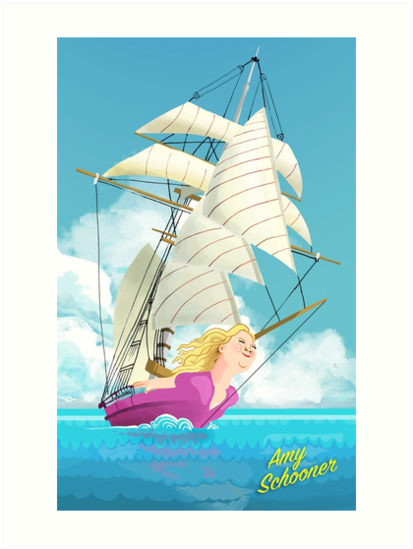 Amy Schooner by ladypuns