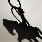 Shadow of a Cowgirl by Daniel Owens