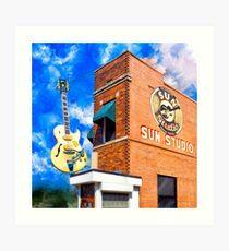 Sun Studio - Historic Memphis Tennessee Art Print