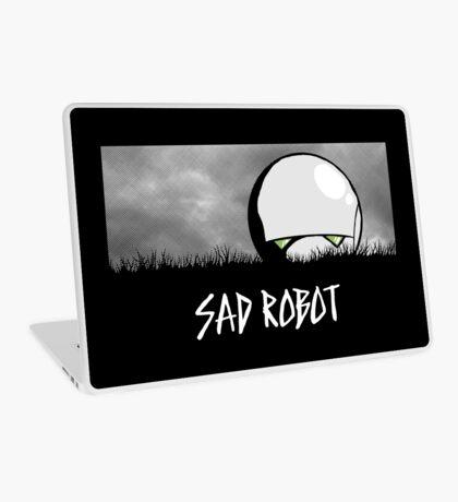 Sad Robot Laptop Skin
