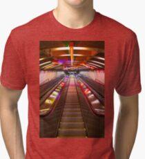 Camiseta de tejido mixto NYC // Exchange Place // PATH