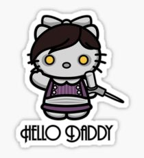 'ello Daddy Sticker