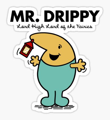 Mr. Drippy Sticker