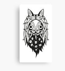 Mononoke Spirit Mask Canvas Print