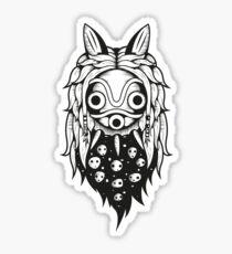 Mononoke Spirit Mask Sticker