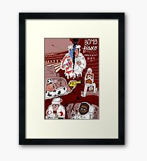 Bomb Fiasco Framed Print