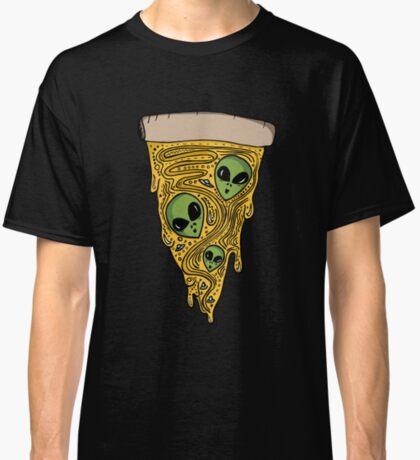 Alien Pizza Classic T-Shirt